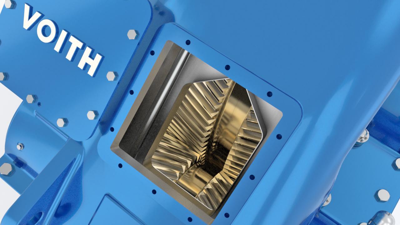 Voith Turbogetriebe BHS AeroMaXX Stirnradgetriebe   Voith