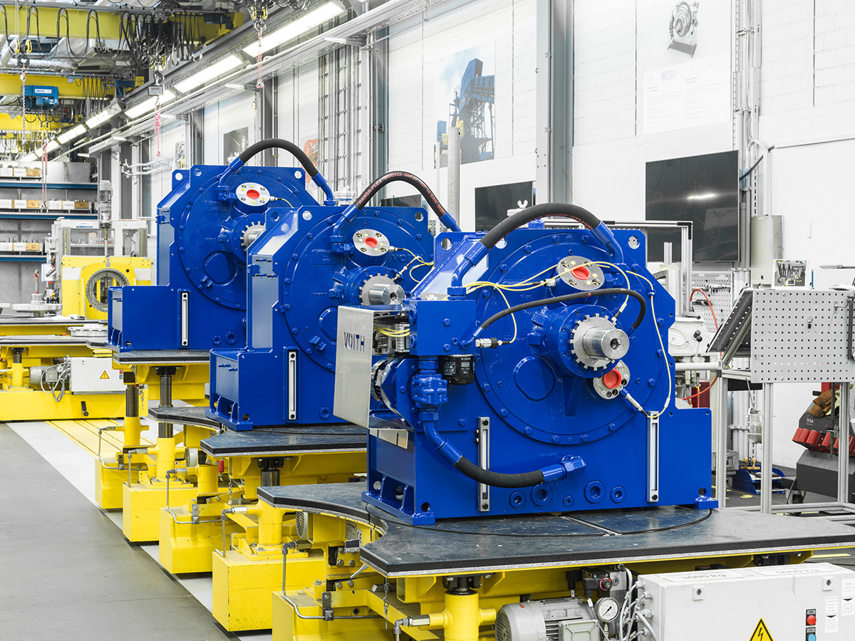 Now available in sizes 800 and 1250, the Voith TurboBelt TPXL range only requires half the volume of conventional couplings to achieve the same force transmission.
