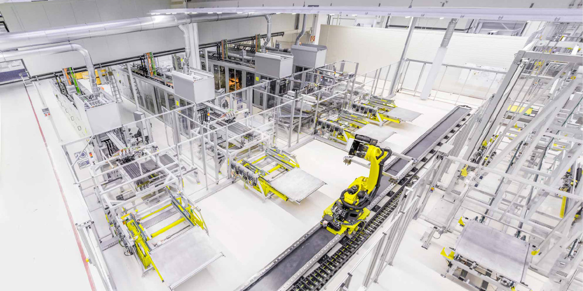 Voith production line, Garching Germany