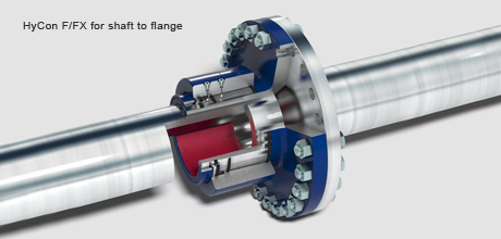 HyCon F/FX for shaft to flange